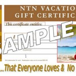 Purchase a NTN Vacations Gift Certificate Today!