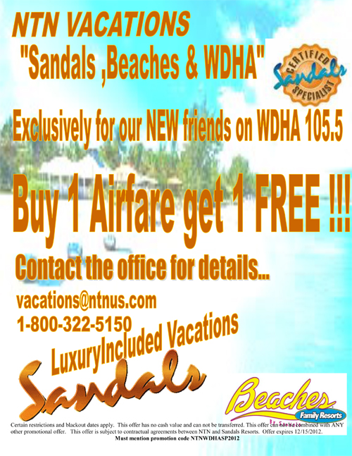 Sandals, Beaches and WDHA! | NTN Vacations